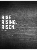 Rise. Rising. Risen. Cover