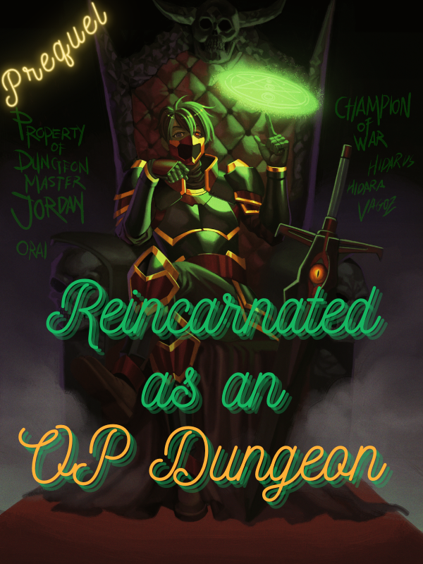 Reincarnated As An OP Dungeon: Prequel Cover