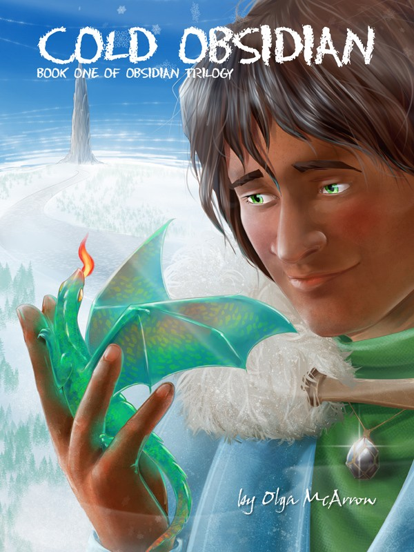 Cold Obsidian - book 1 of Obsidian Trilogy Cover