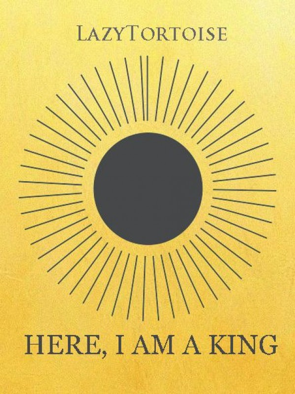 Here, I am a king Cover